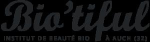 logo biotiful institut beaute auch gers 560x156px