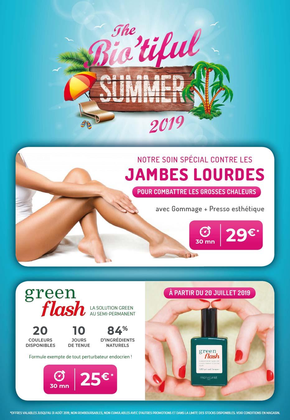 offre promo institut beaute auch biotiful 2019-07