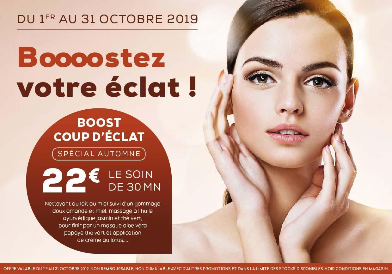 offre promo institut beaute auch biotiful 2019-10